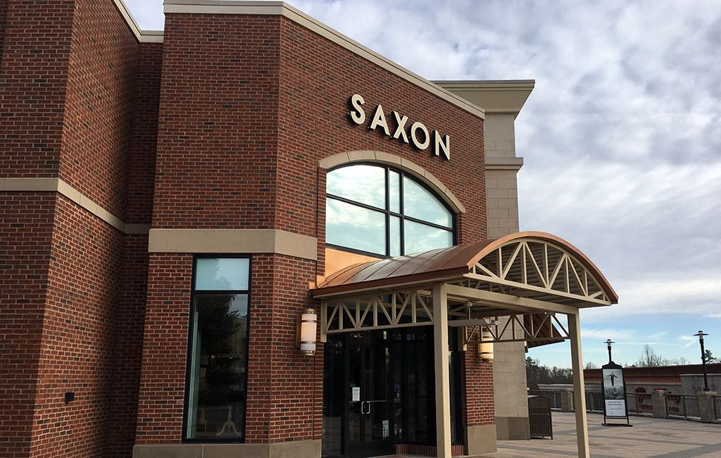 Saxon Shoes storefront