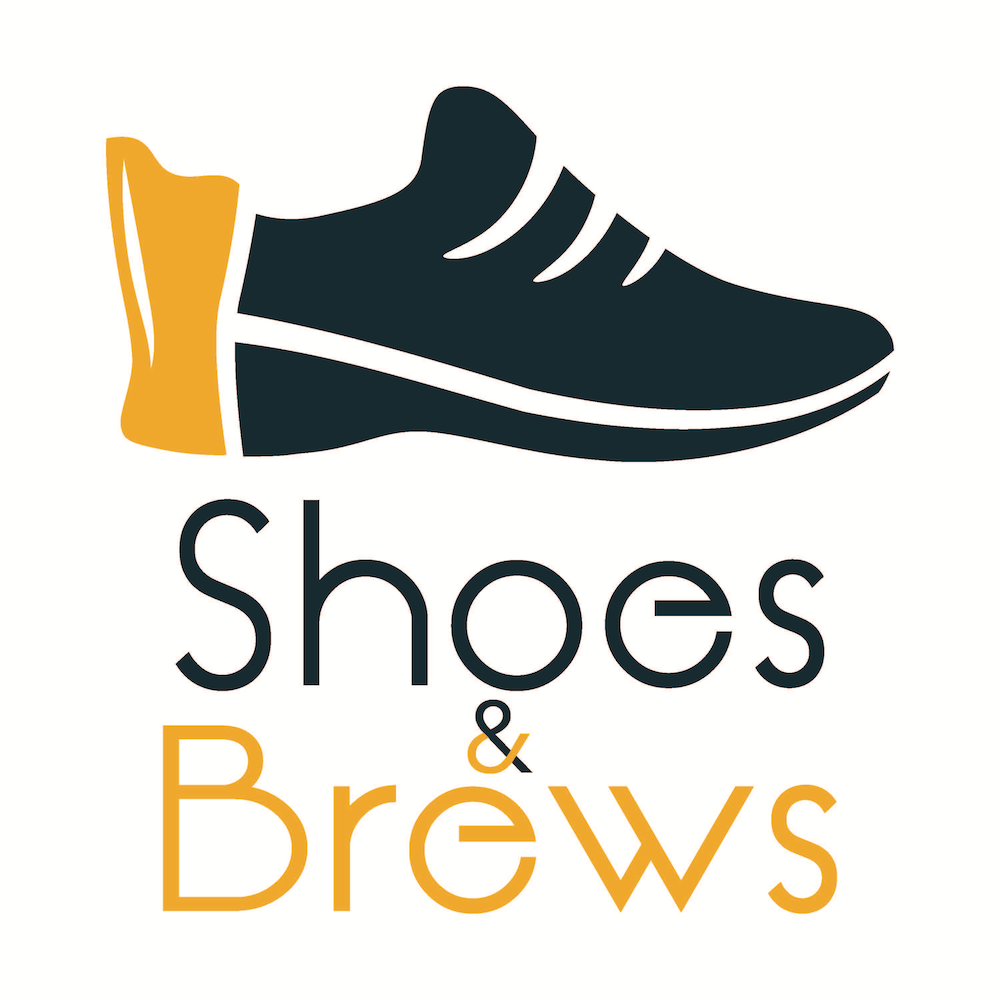 Shoes & Brews logo