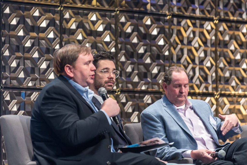 Andy Polk and panelists at the 2019 FDRA Executive Summit