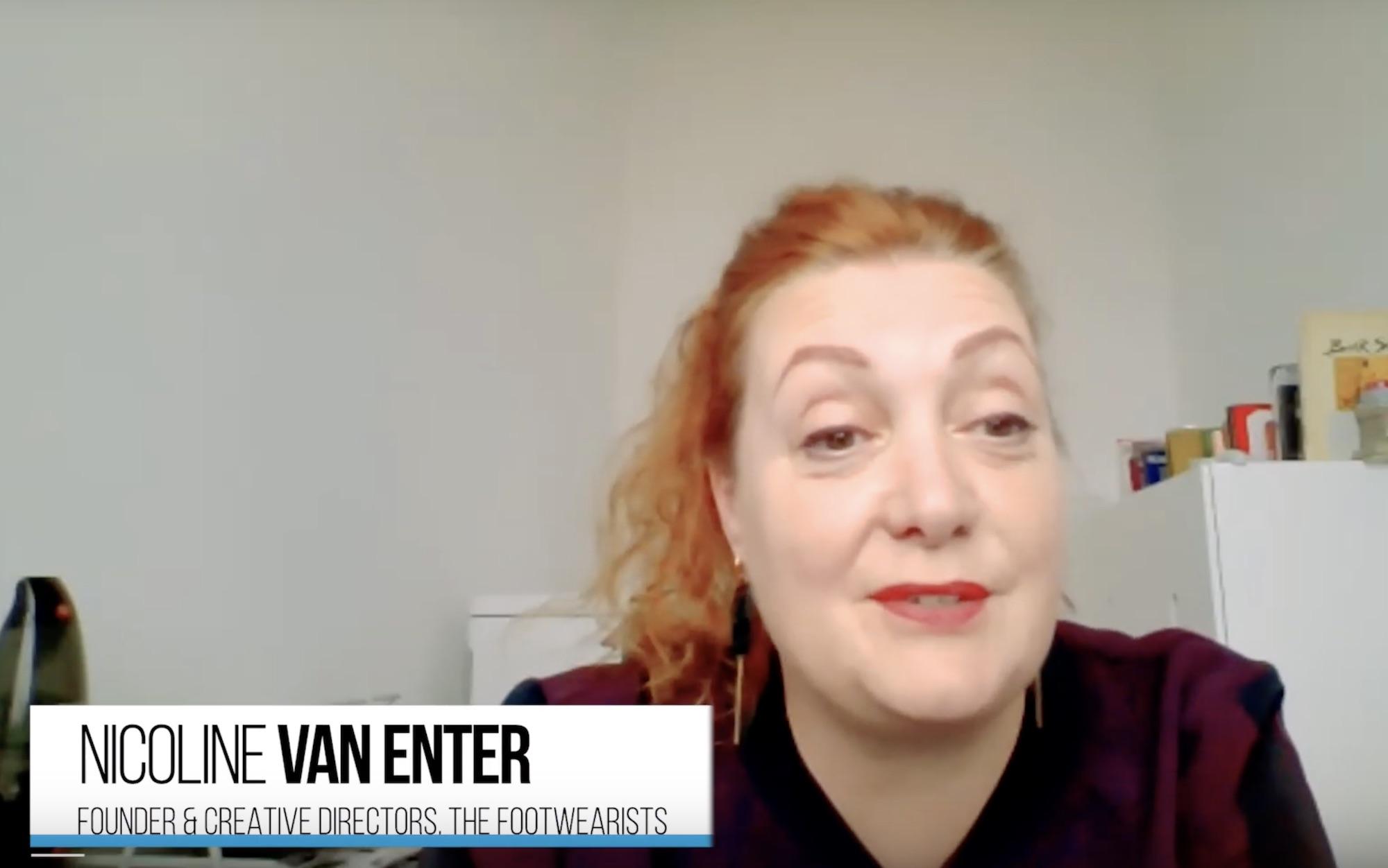 Nicoline van Enter, Founder at the Footwearists