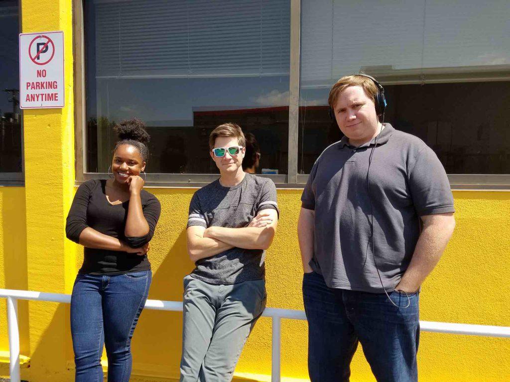 Jasmine, Matt and Andy