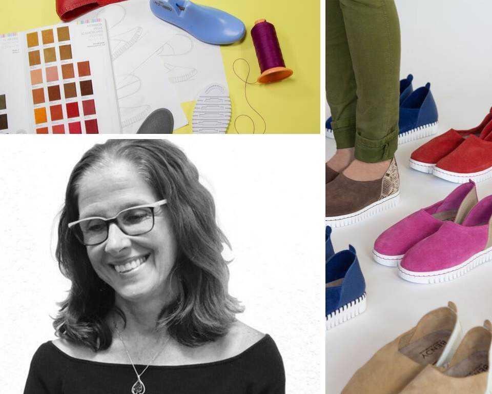 Caroline de Baere, Co-Founder BENDY shoes