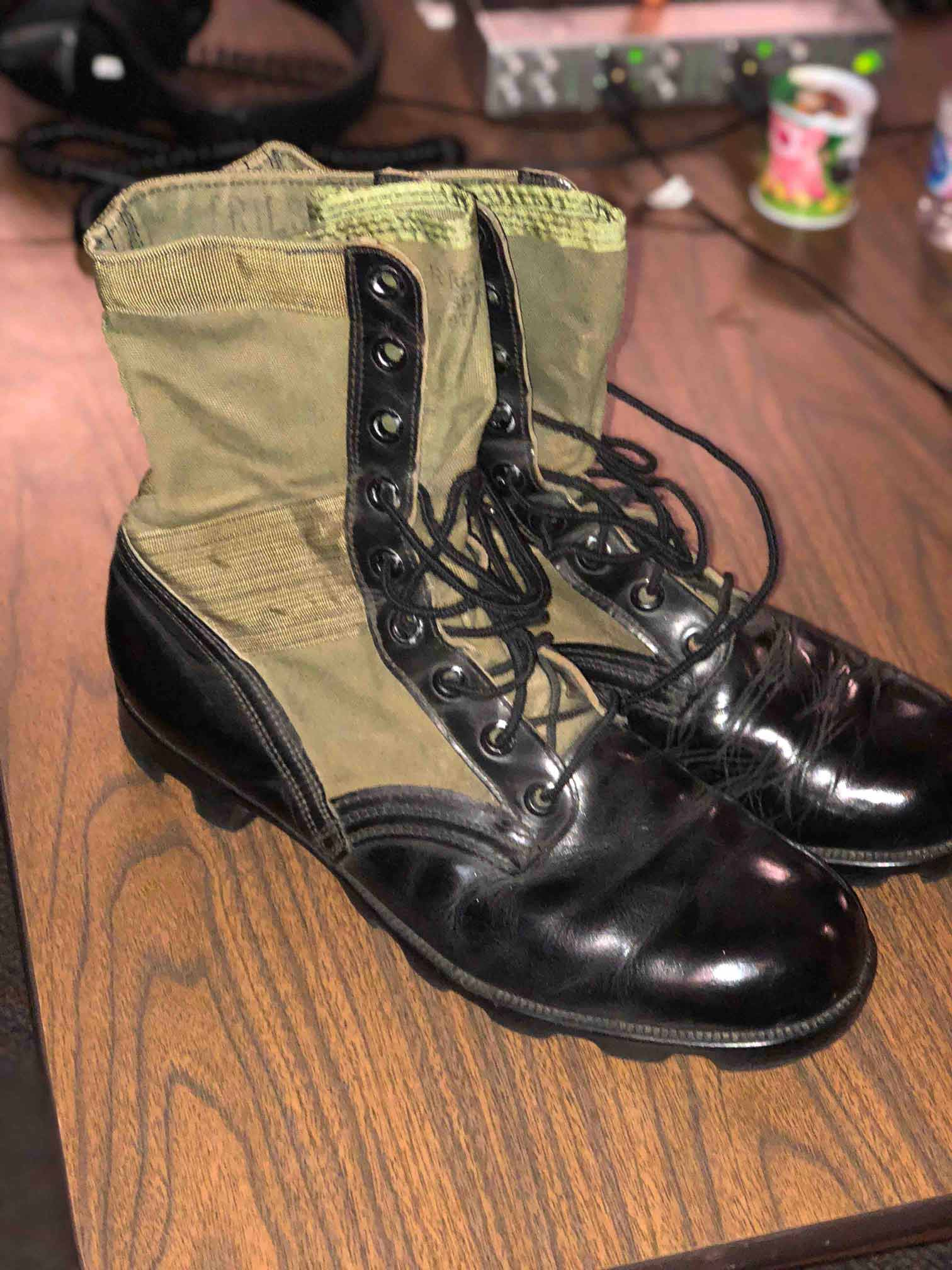 Rick Priest's favorite boots
