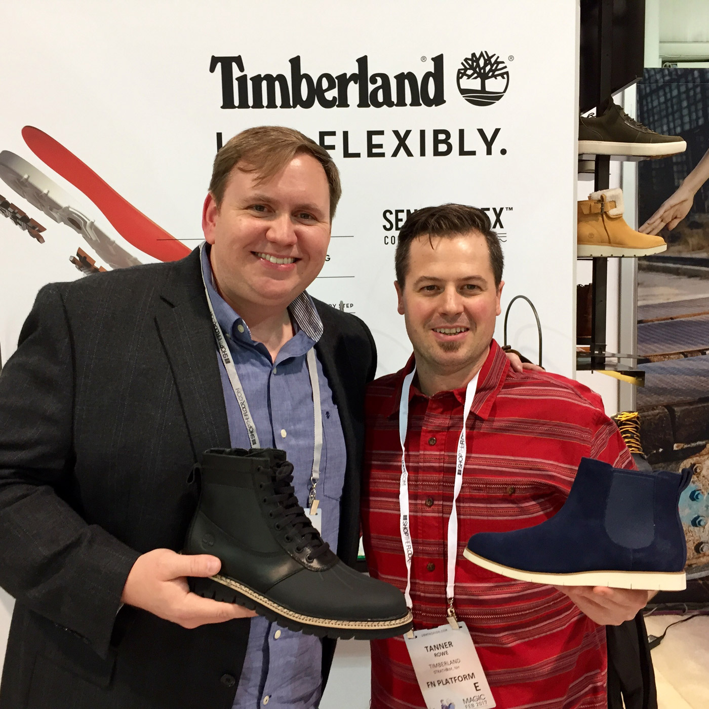 Tanner Rowe, Account Executive, Timberland