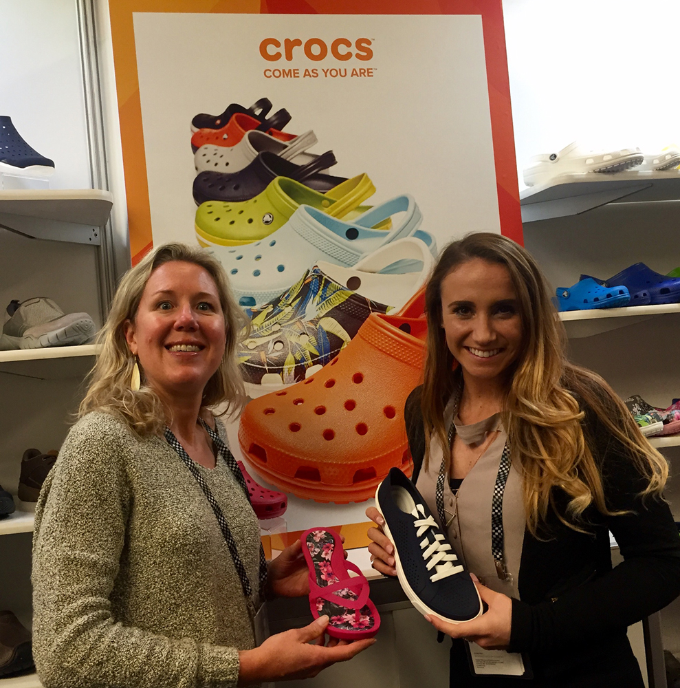 Jen Spalding, Crocs