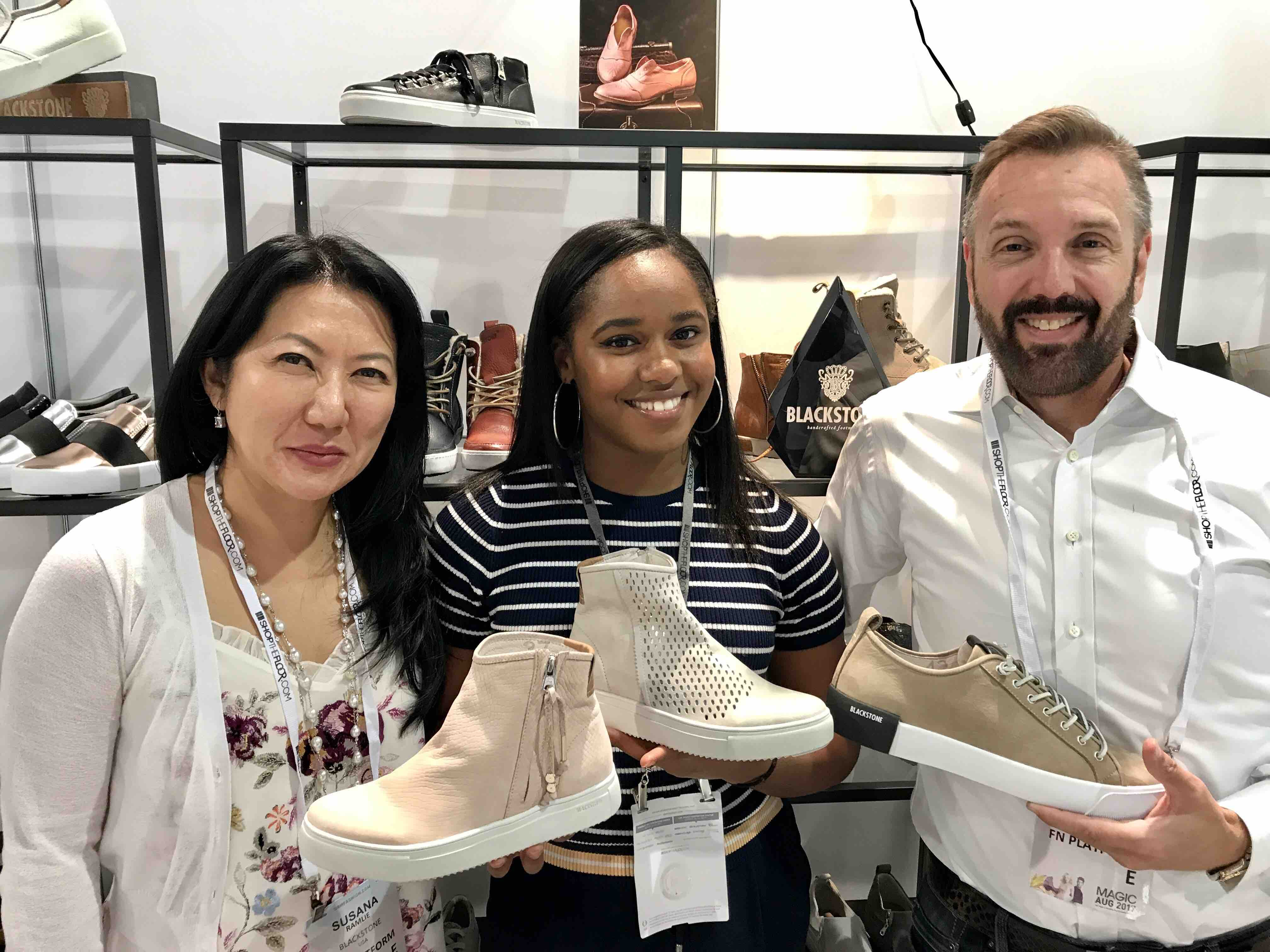 Peter Cochran and Susana Ramlie, Owners, Blackstone Shoes